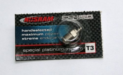 Nosram Glühkerze Power piuxx 2 Standard Bauform R3 med/hot Thund