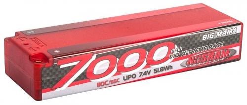 NOSRAM 7000 - Big Mama - 110C/55C - 7.4V LiPo - 1/10 Thunder Tig