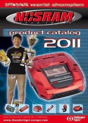 NOSRAM Hauptkatalog 2011 Engl Thunder Tiger 02699990