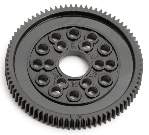 Spur Gear, 81T, 48 Pitch, RC10 Thunder Tiger 0306693
