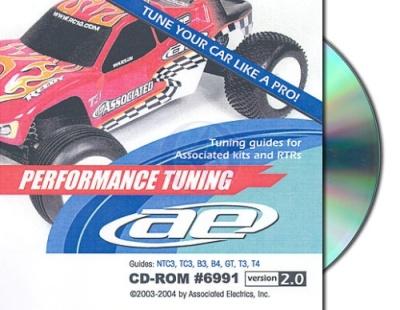 Team Associated  Performance CD Thunder Tiger 0306991