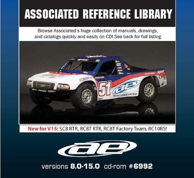 Team Associated  Daten CD Thunder Tiger 0306992