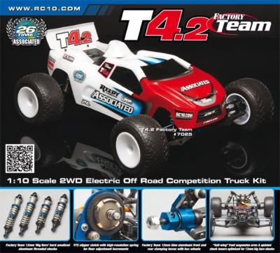 TEAM ASSOCIATED T4.2 Elektro-2WD Truck Voll-Tuning Kit Thunder T