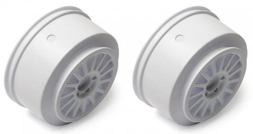 Wheel, white ProRally/ ProSC 4x4 Thunder Tiger 0307175