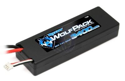 TEAM ASSOCIATED LiPo 7,4V Hardcase 3400mAh 35C WolfPack Thunder