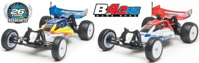 TEAM ASSOCIATED B4.2RS Brushless-2WD 1:10 Buggy RTR 2.4GHz Thunder Tiger 0309042