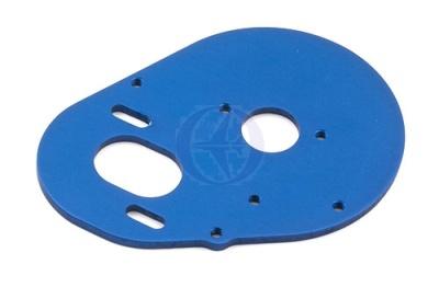 FT B4/T4 Aluminium Motorplatte blau Thunder Tiger 0309600B