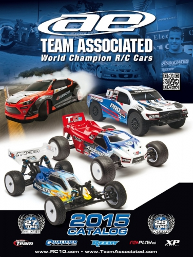 Katalog 2015 TEAM ASSOCIATED Englisch Thunder Tiger 030AE2015