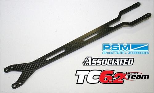 PSM TC6.2 Chassis-Top-Deck Flexx, 2mm Kohlefaser Thunder Tiger 032PS01617