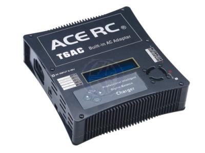 T6AC Balancer Lader 220V/12V mit LCD Display blau Thunder Tiger