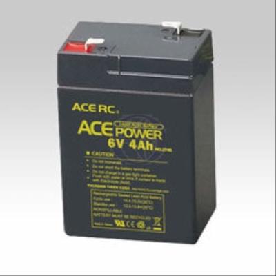 Lead-Acid Battery, 6V/4A h Thunder Tiger 2746