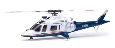 Agusta A109K2 blau-weiß Thunder Tiger 3876-L