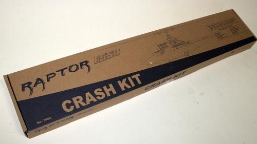 E550 CRASH KIT Ersatzteile-Set Thunder Tiger 3882