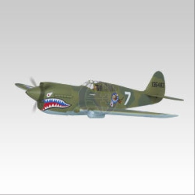 P-40 War Hawk OBL ohne  Motor Thunder Tiger 4339-K20