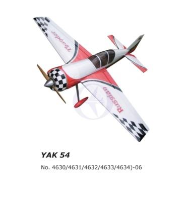 40%Yak54-129 Thunder Tiger 4634-06