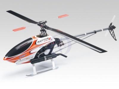 R50 Titan SE rot Kit mit RL-53H & Carbonblätter Thunder Tiger 48