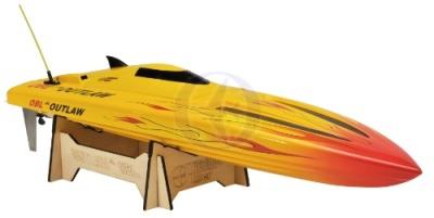 OUTLAW JR OBL RTR Brushless Kompakt-Power-Boot 2.4GHz Gelb Thunder Tiger 5123-F27Y