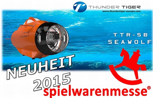 SEAWOLF U-Boot RTR inkl. FPV-Live-Bild-Kabel-System Thunder Tiger 5222-F10