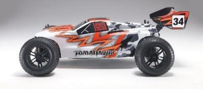 TOM ST 1:10 Nitro 3,0ccm 4WD Truggy RTR 2.4G, ROT iFHss+ Thunder Tiger 6197-F271