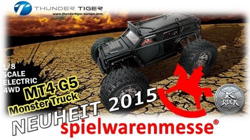 K-ROCK MT4 G5 1:8 Brushless 4WD EXTREME Monster-Truck RTR Thunde