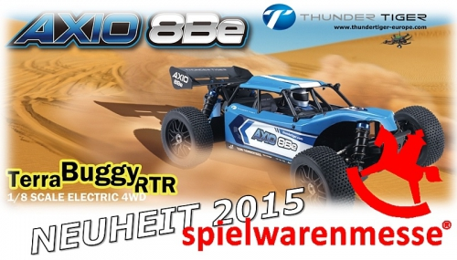 AXIO 8Be 1:8 Brushless 4WD Terra-Race-Buggy RTR Thunder Tiger 64