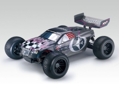 SPARROWHAWK XXT 1:10 4WD BL Truggy RTR 2.4G iFHss+ GRAU Thunder