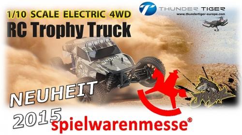 JACKAL 1:10 Brushless 4WD Trophy-Truck RTR Thunder Tiger 6544-F