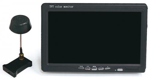Thunder Tiger FPV Set 5.8G inkl. Monitor GHOST+ Thunder Tiger 8034
