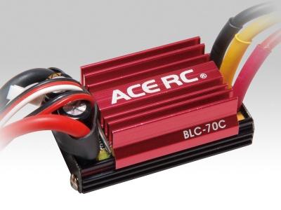 Car Brushless Regler ACE RC BLC-70C ESC NEU 2013 Thunder Tiger 8066