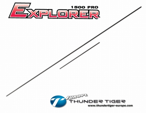 EXPLORER 1500 PRO Anlenk-Gestänge Thunder Tiger AS2007