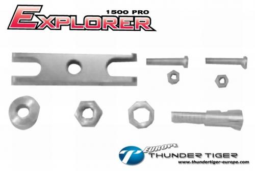 EXPLORER 1500 PRO Klapp-Luftschraube Zentral-Teile, Set Thunder Tiger AS2008