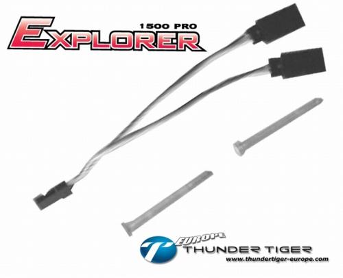EXPLORER 1500 PRO Servo-Y-Kabel Thunder Tiger AS2012