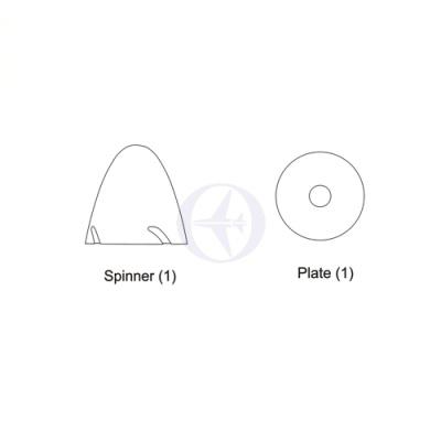 Spinner, 4320 Thunder Tiger AS6409