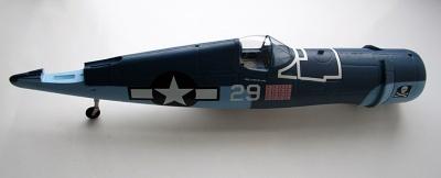 Rumpf für 4372SZ F-4U Thunder Tiger AS9222SZ