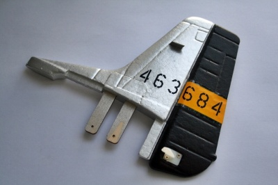 Seitenruder für 4373SZ P-51D Thunder Tiger AS9238SZ