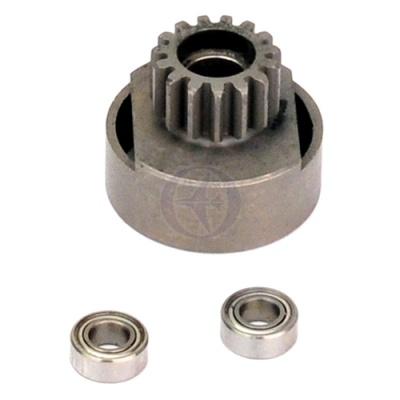 Kupplungsglocke 26mm, Modul1, 15 Zähne, Stahl Thunder Tiger PD0470