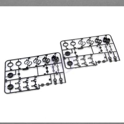 EB4 S2/2.5 & RALLY Kunststoffteile für Dämpfer, Set (4) Thunder Tiger PD0562