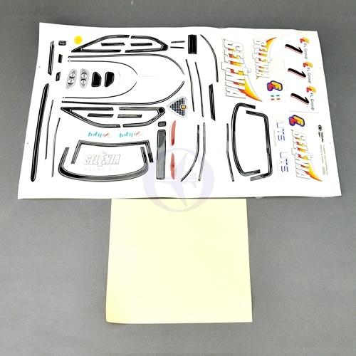 DECAL, ALFA156 200MM / D ekorbogen für Alfa Romeo Thunder Tiger