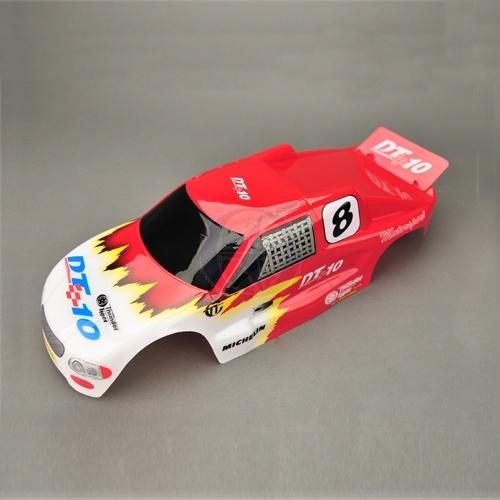 Karosserie lackiert rot DT10 Thunder Tiger PD6099