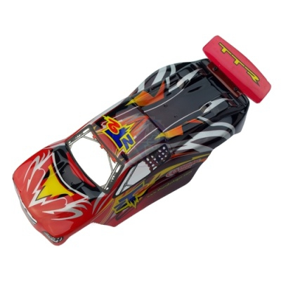 Karosserie lackiert Imola Red/Schwarz Thunder Tiger PD6626-R