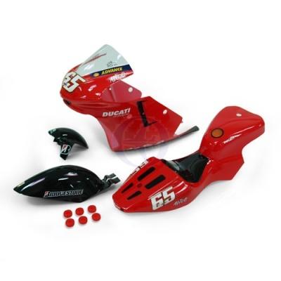 Ducati Verkleidung lackiert Thunder Tiger PD6806