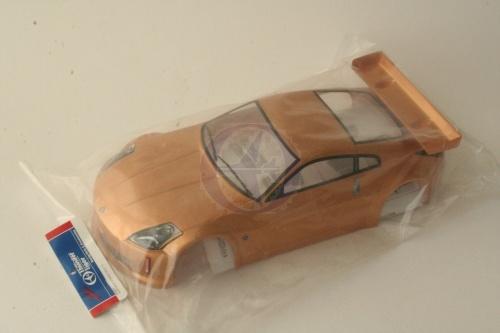 Karosserie lackiert, Nissan 350Z T S4E 190mm Thunder Tiger PD683