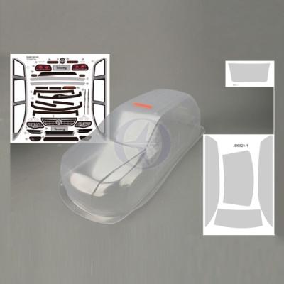 Karosserie klar + Dekorbogen VW Tuareg, ER-1 Thunder Tiger PD687