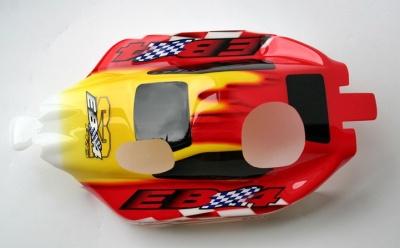 Karosse rot 6227 Thunder Tiger PD7884-R