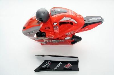 Karosse & Fahrer orange lackiert 6574 Thunder Tiger PD9036-O