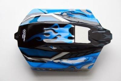 lackierte Karosse blau 6400 Thunder Tiger PD9038-L