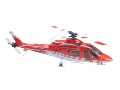 Rumpf-Ersatz-Hauptteil ROT-WEISS (R) 3876 Thunder Tiger PV1210-R