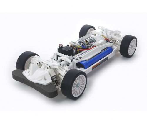 1:10 RC TT-02 Chassis Kit White Special Tamiya 47364 300047364
