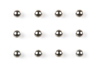 FF-03 Tungsten/Carbon Kugeln 3/32 (12) Tamiya 54226 300054226
