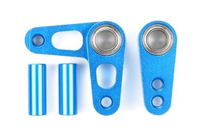 FF-03/Pro Alu Lenkhebel-Set blau elox. Tamiya 54235 300054235